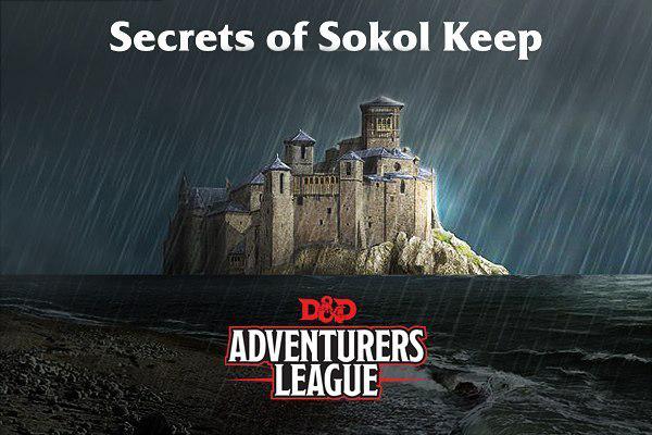 Ddex1 02 Secrets Of Sokol Keep Tier 1 D Amp D Adventurers