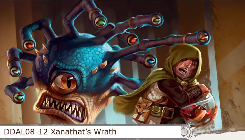 Ddal08 12 Xanathar S Wrath Tier 2 D Amp D Adventurers